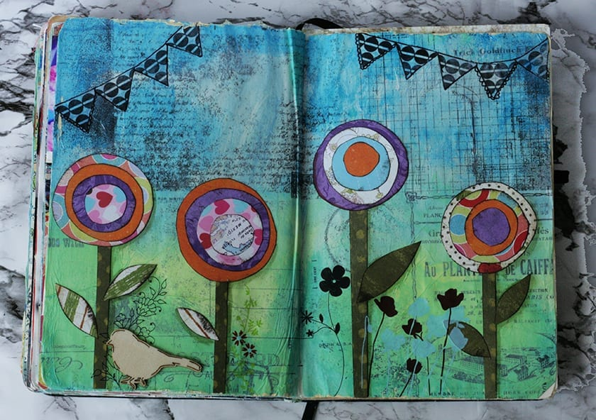 Art with gelli plates