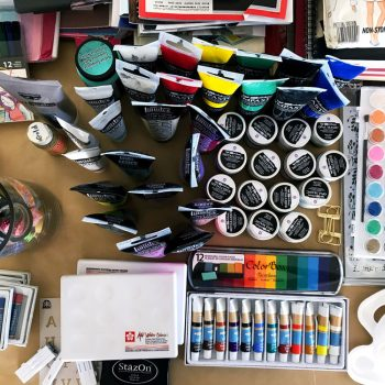 How to Prep An Art Journal Kit