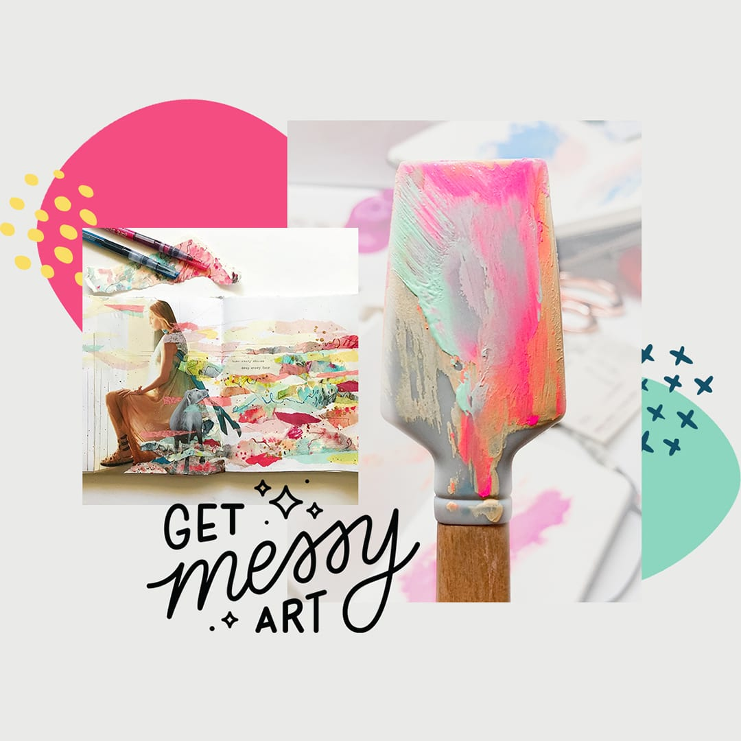 Get Messy Art Journal Review