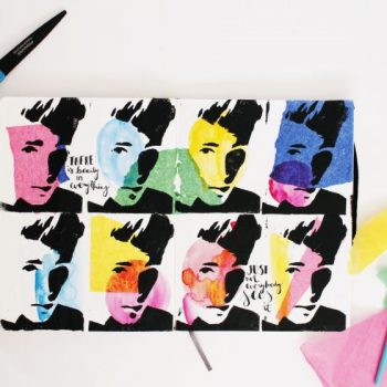 Drawing inspiration from Andy Warhol
