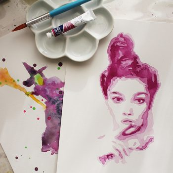 Painting Water Colour Portraits