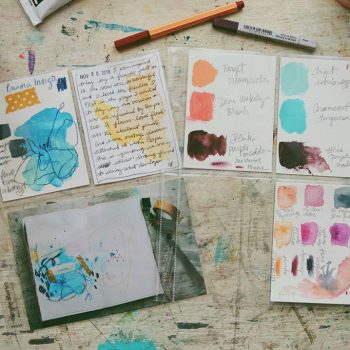 Joy Notes and being inspired by yourself