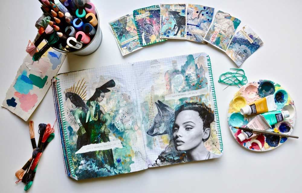 Creating Everyday with Artist Trading Cards