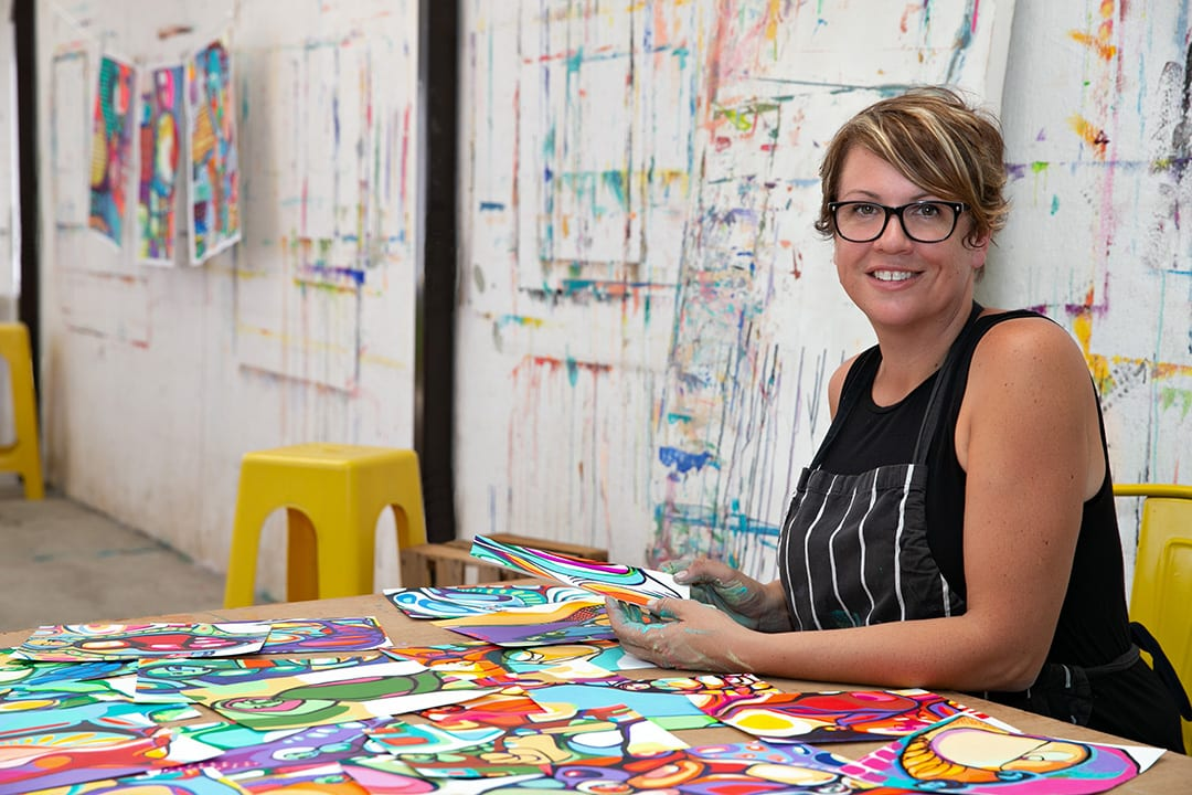 Meet Connie and an Introduction to Painting as Affirmation