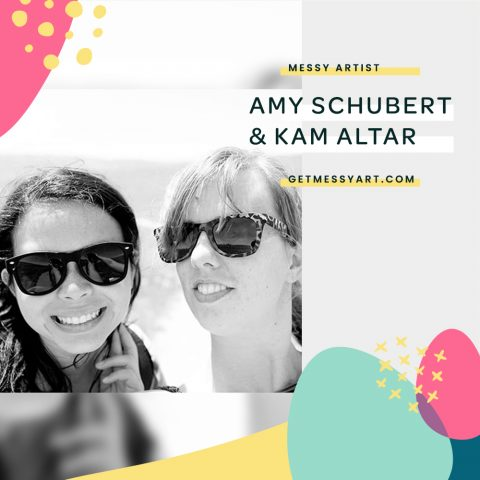 How Amy Schubert and Kam Altar Use Art as a Release from Their Type-A Tendencies