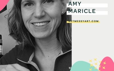 Amy Maricle views art journaling as an extension of herself