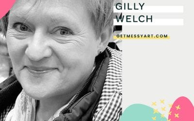 How art journaling quite literally changed Gilly Welch's life