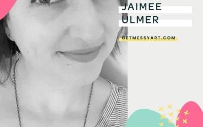 Jaimee Ulmer uses art journaling to release the pressure