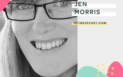 How Art Journaling Helps Jen Morris Keep Her Mind Distraction Free