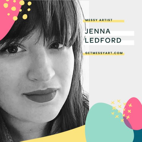 Jenna Ledford Uses Art to Drown Out the Self-Doubt