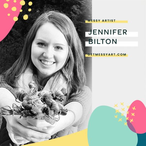 Jennifer Bilton Finds Her Voice Through Art Journaling