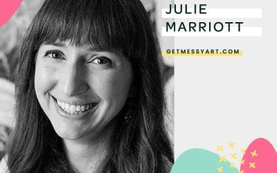 How art journaling helps Julie Marriott feel free