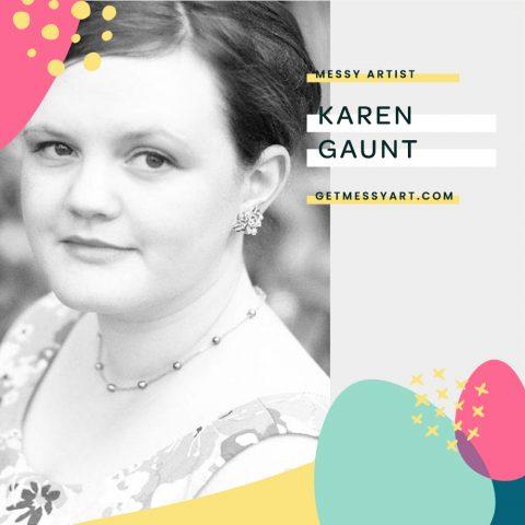 How Art Journaling Frees Karen Gaunt to Just Create