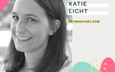 Katie Licht has used art journaling all her life for self reflection