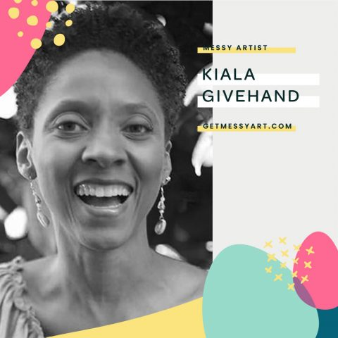How Kiala Givehand is Leaving a Legacy with Her Art
