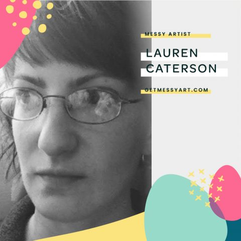 How embracing the mess of art journaling makes Lauren Caterson feel grounded