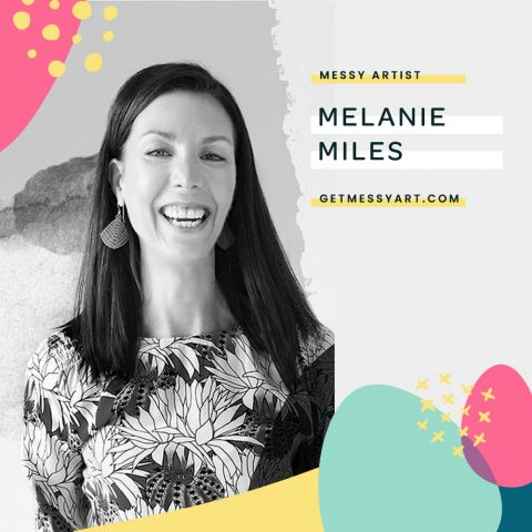 Melanie Miles feels fulfilled by enjoying the creative process