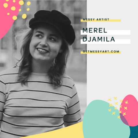 How Merel Djamila uses heart and humility to be a better artist