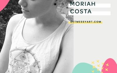 How Moriah Costa uses art journaling to express herself