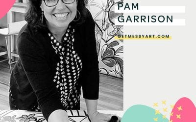 How Pam Garrison uses art journaling as her personal playground