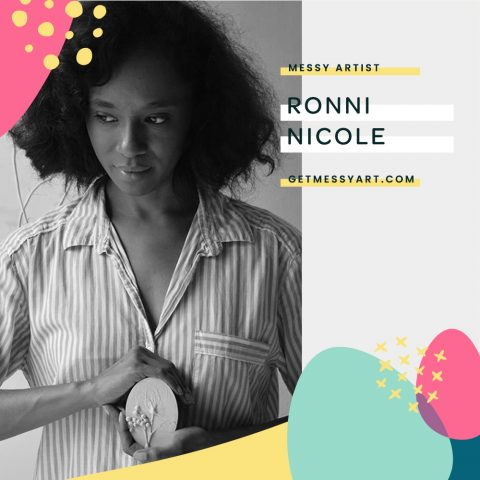Ronni Nicole gives herself the freedom to evolve through art