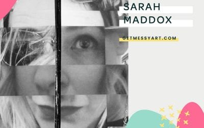 How art journaling was the missing puzzle piece that completes Sarah Maddox
