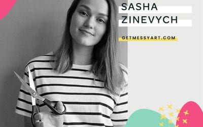 How Sasha Zinevych uses community to make her a better artist