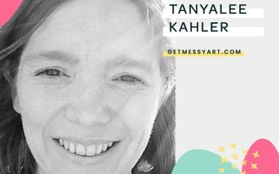 How art journaling gives Tanyalee Kahler the confidence to create without judgment