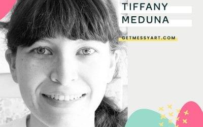 How Tiffany Meduna plans out time to make art