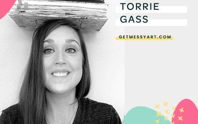 How Torrie Gass' belief that all humans are creative leads her to practice art every day