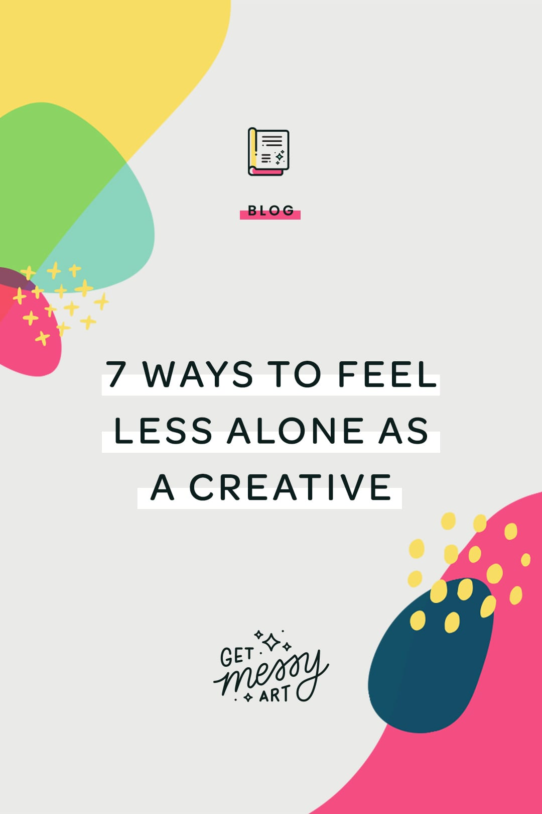 7 ways to feel less alone as a creative