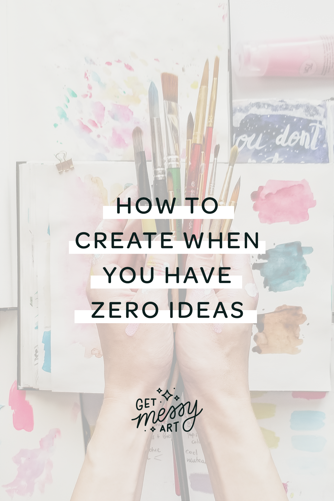 How to create when you have zero ideas