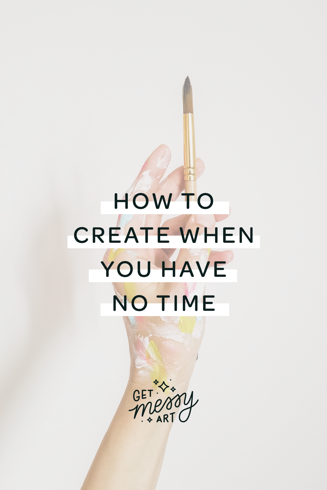 How to make art when you have no time