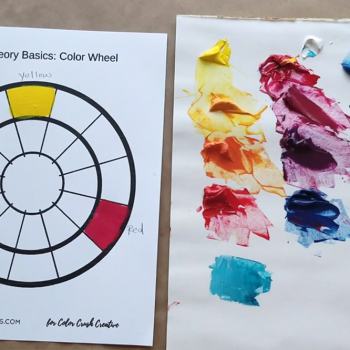 Colour Theory Basics: The Colour Wheel and Colour Harmony