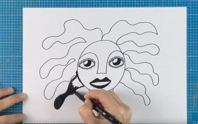 How to draw faces – Ask an Artist 003