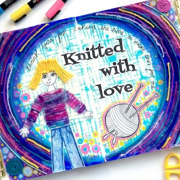 Knitted with love: Using yarn to create pattern and texture