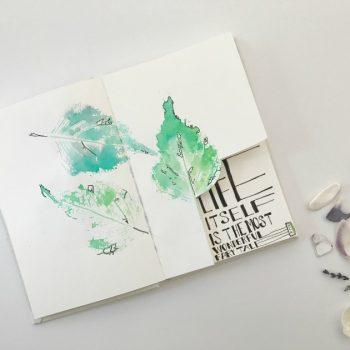 Foraging for Art Journal Supplies