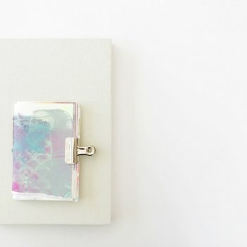 Creating Rituals around your art journaling