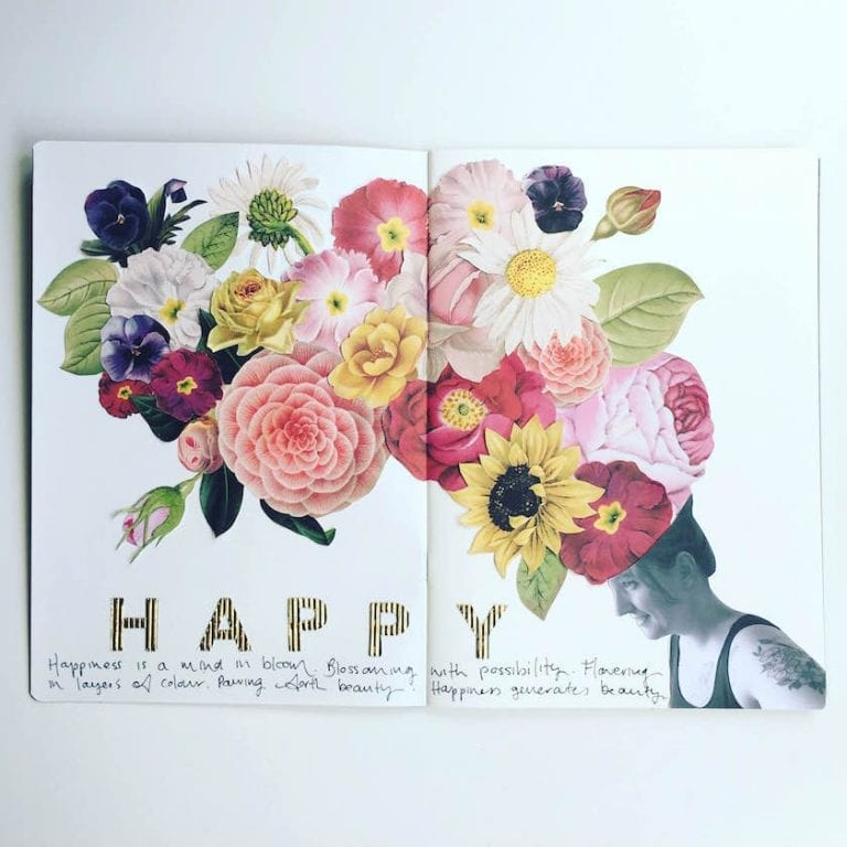 Creating a Floral Collage