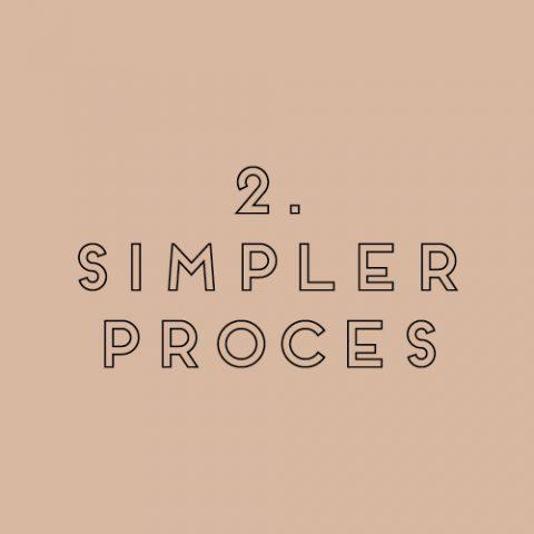 2. SIMPLER PROCESS