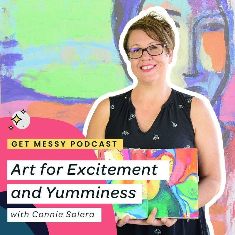 Art for Excitement and Yumminess with Connie Solera