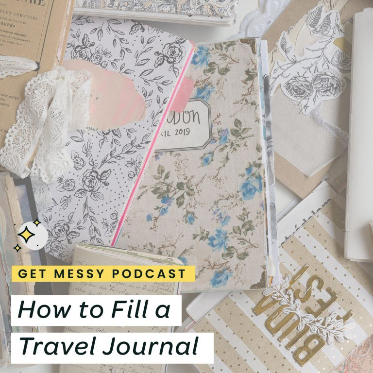 How to Fill a Travel Journal