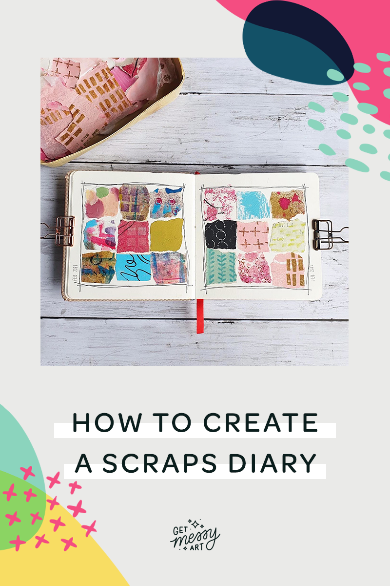 How to Create a Scraps Diary
