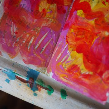 Release Your Inner Child: Finger Painting