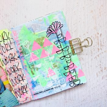 Art Journals from Found Materials
