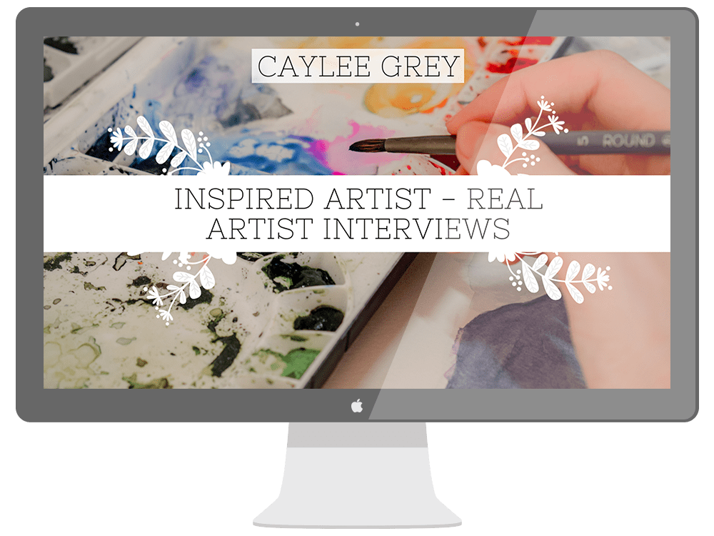 Inspired Artist Interview with Caylee Grey