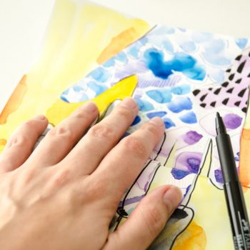 How to create a collage of hands
