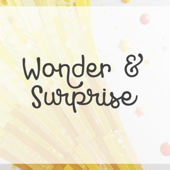 Lesson 5 – Wonder and Surprise