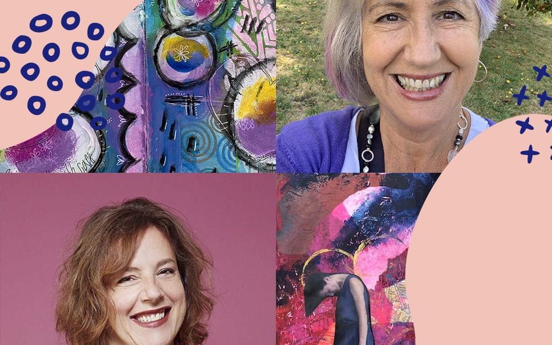 How to be intentional about your artist journey with Cindy Jay and Debbie Bamberger