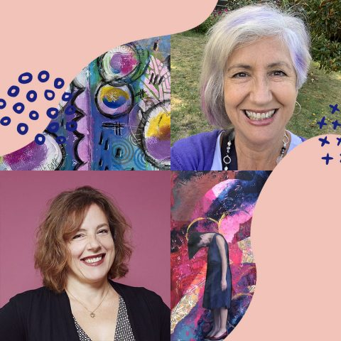 007 Be intentional about your artist journey with Cindy Jay and Debbie Bamberger